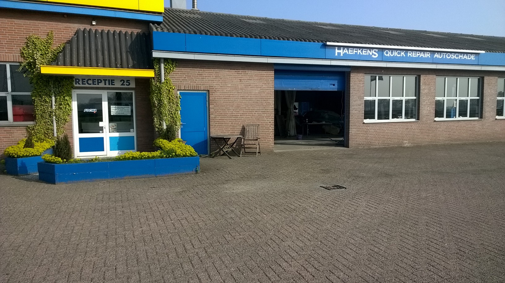 Haefkens quick repair autoschade fixico for Garage brothers utrecht ervaring